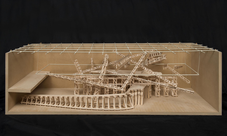 03. Model for New Work Installation MSVU Gallery