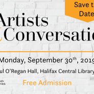 Save the Date – Artists & Conversation 2019